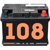 Image for 108 Car Batteries