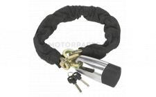 Image for Motorcycle Chain & Disc Lock 10.5x10.5x900mm 4* ART Approved