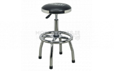Image for Workshop Stool Heavy-Duty Pneumatic Adj Height Swivel Seat