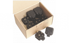 Image for Rubber Plug 13Amp Extra Heavy-Duty Pack of 10