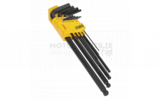 Image for Ball-End Hex Key Set 9pc Extra-Long Imperial