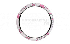 Image for STEERING WHEEL COVER - PINK FLOW