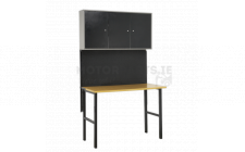 Image for Foldable Workstation with Cupboards