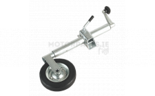 Image for Jockey Wheel & Clamp Ø50mm - 200mm Solid Wheel