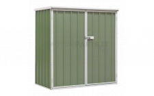 Image for Galvanized Steel Shed Green 1.5 x 0.8 x 1.5mtr