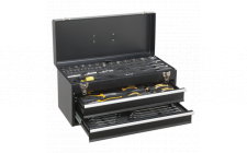 Image for Portable Tool Chest 2 Drawer with 90pc Tool Kit