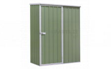 Image for Galvanized Steel Shed Green 1.5 x 0.8 x 1.9mtr