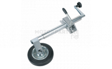 Image for Jockey Wheel & Clamp Ø35mm - 150mm Solid Wheel