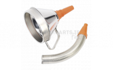 Image for Funnel Metal with Flexible Spout & Filter Ø160mm