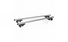 Image for Aluminium Roof Bars 1200mm for Trad Roof Rails 90kg Max Load