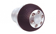 Image for GEAR KNOB CHROME/LEATHER