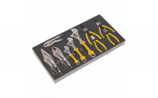 Image for Tool Tray with Adjustable Wrench & Pliers Set 10pc