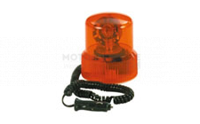 Image for Revolving amber beacon 12v magn