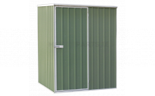 Image for Galvanized Steel Shed Green 1.5 x 1.5 x 1.9mtr
