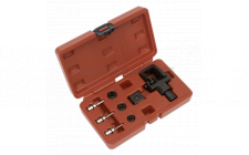 Image for Heavy-Duty Motorcycle Chain Splitter & Riveting Tool Set