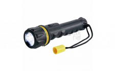 Image for RING 3 LED SMALL RUBBER TORCH AA BATTERIES