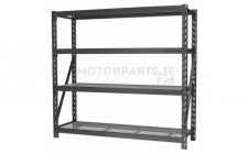Image for HD Racking Unit with 4 Mesh Shelves 640kg Cap/Level