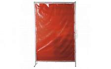 Image for Workshop Welding Curtain to BS EN 1598 & Frame 1.3 x 1.75mtr