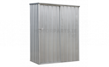 Image for Galvanized Steel Shed 1.5 x 0.8 x 1.9mtr Sliding Door