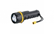Image for RING 3 LED LARGE RUBBER TORCH D BATTERIES