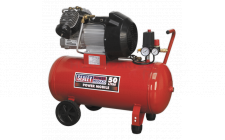 Image for Compressor 50ltr V-Twin Direct Drive 3hp