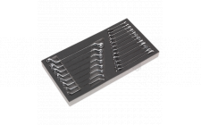 Image for Tool Tray with Comb & Deep Offset Spanner Set 20pc - Metric