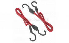 Image for 760mm Flat Bungee Cord Set 2pc