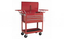 Image for Extra Heavy-Duty Trolley 2-Level with 4 Drawers & Cantilever