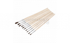 Image for Touch-Up Paint Brush Assortment 10pc Wooden Handle