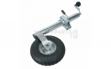 Image for Jockey Wheel & Clamp Ø48mm - 260mm Pneumatic Wheel
