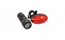 Image for 2 PIECE BIKE LIGHT SET