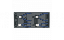 Image for Tool Tray with Circlip Pliers Set 4pc