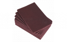 Image for Abrasive Finishing Pad 150 x 230mm Medium Pack of 10