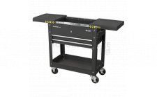 Image for Mobile Tool & Parts Trolley - Black