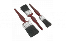Image for Pure Bristle Paint Brush Set 3pc