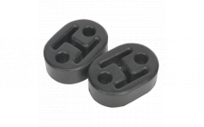 Image for Exhaust Mounting Rubbers L60 x D41 x H20 (Pack of 2)