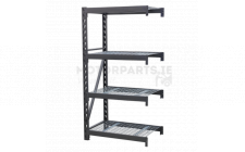 Image for HD Racking Ext Pack with 4 Mesh Shelves 640kg Cap/Level