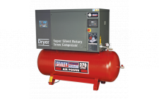 Image for Screw Compressor 270ltr 10hp 3ph Low Noise with Dryer