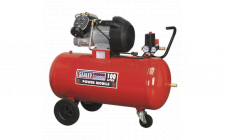 Image for Compressor 100ltr V-Twin Direct Drive 3hp