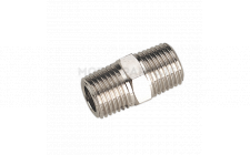 "Image for Double Male Union 1/4""BSPT to 1/4""BSPT"