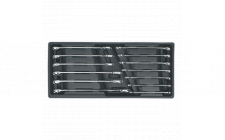 Image for Tool Tray with Combination Spanner Set 13pc Metric