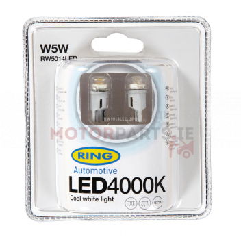 Image for 3 X RING LED 501 COOL WHITE
